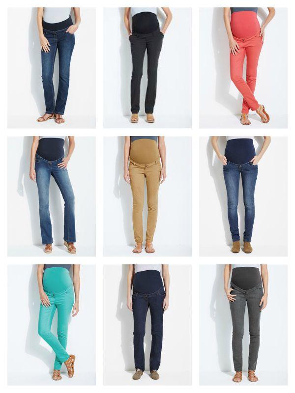 Pantalones premamá Vertbaudet
