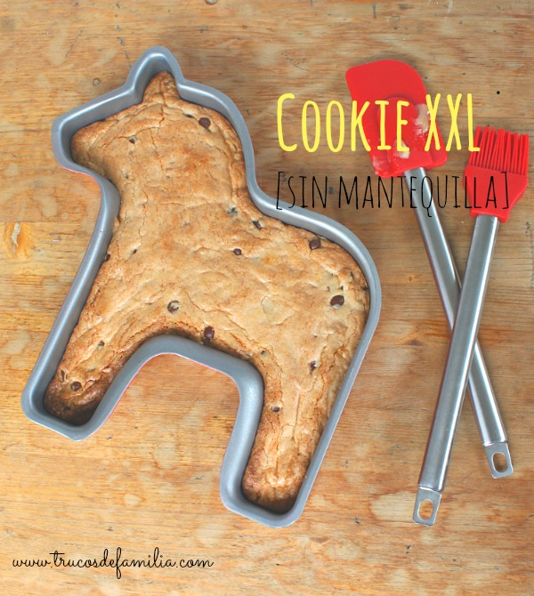Cookie XXL sin mantequilla