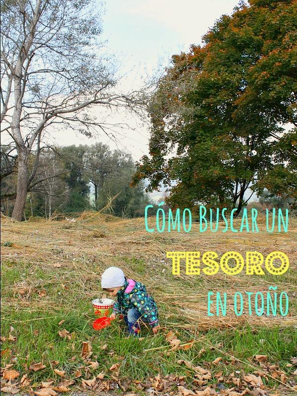 Cómo buscar tesoros en otoño con niños