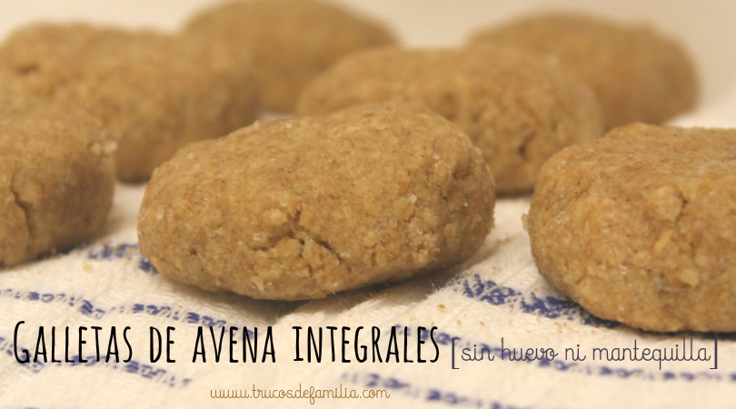 galletas de avena integrales
