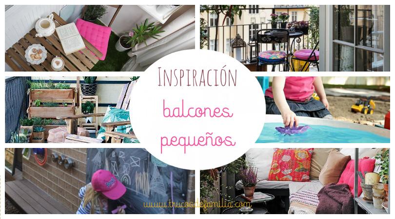 Inspiración balcones pequeños