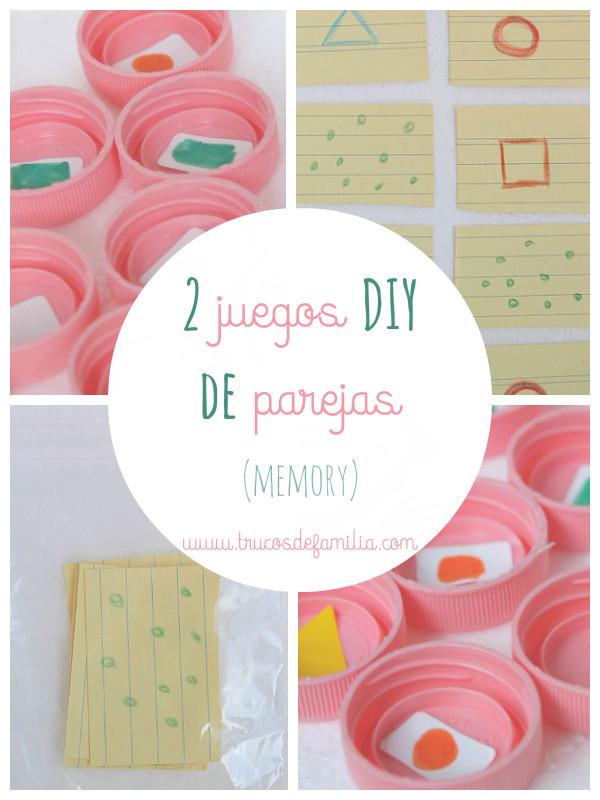 juegos DIY de parejas (memory)