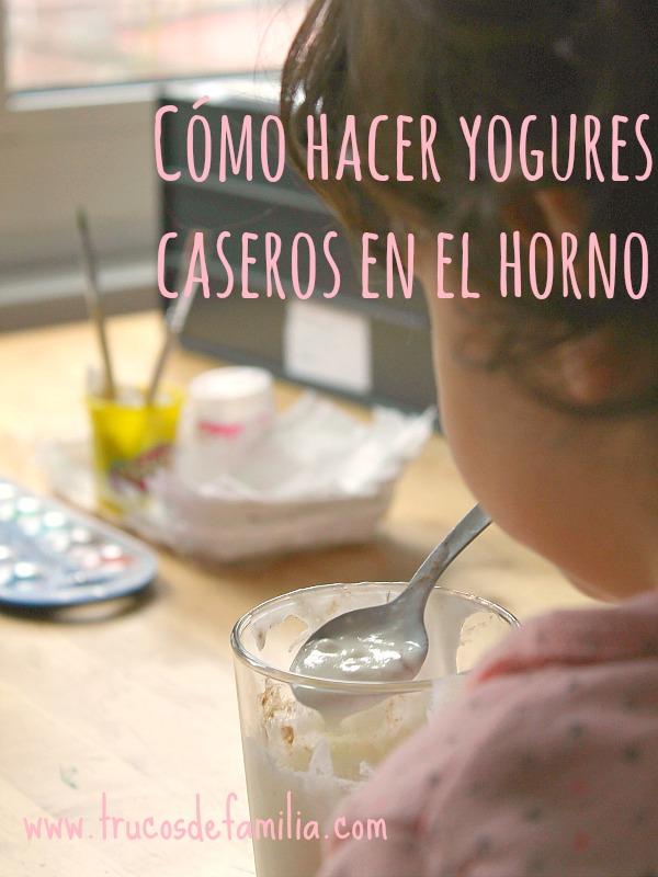 Cómo hacer yogures caseros