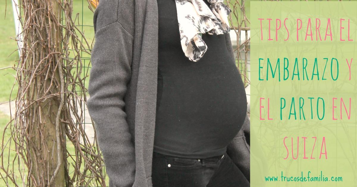 recomendaciones para el embarazo y el parto en Suiza