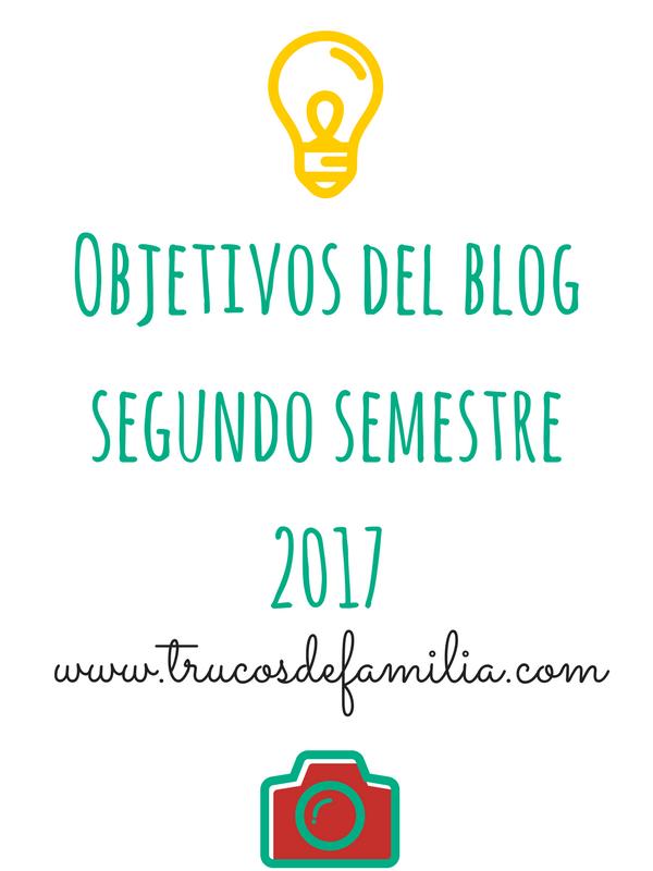 Objetivos blog segundo semestre 2017