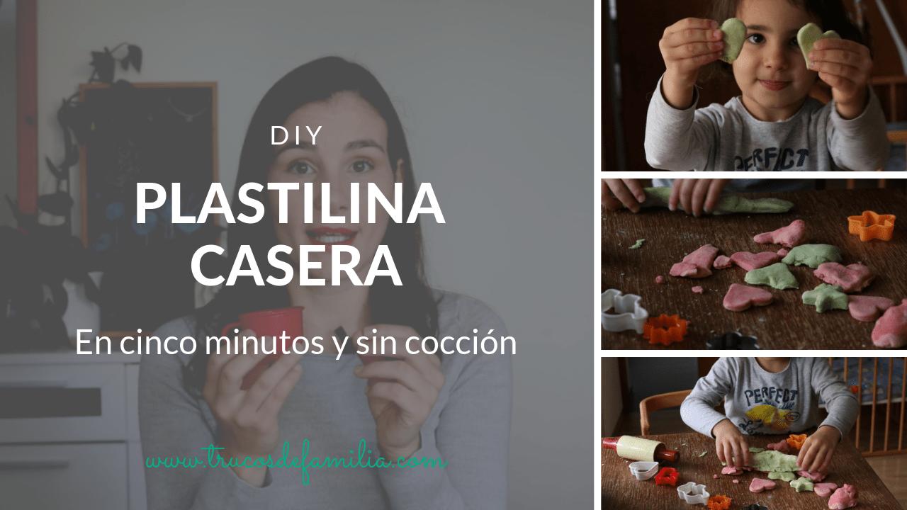 Plastilina casera en cinco minutos y sin cocción trucos
