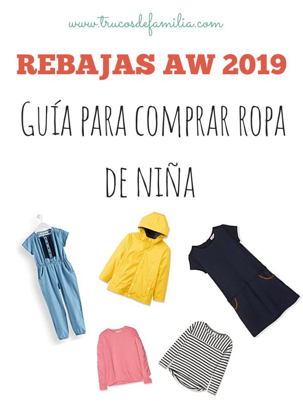 Guía para comprar ropa de niña rebajas aw 2019