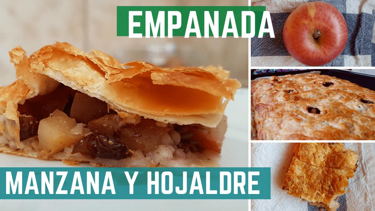 Empanada manzana hojaldre canela