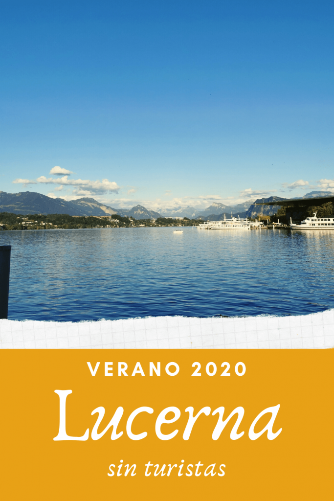 Lago de Lucerna en verano